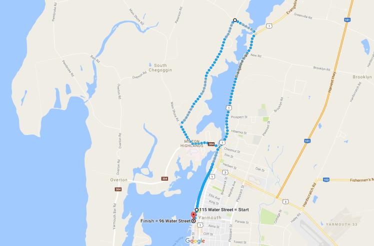 Sheila Poole Route